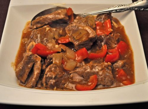 Lamb, Braised with Sherry