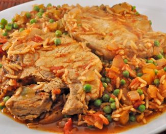 Pork & Spanish Rice
