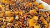 Lentils and Butternut Squash