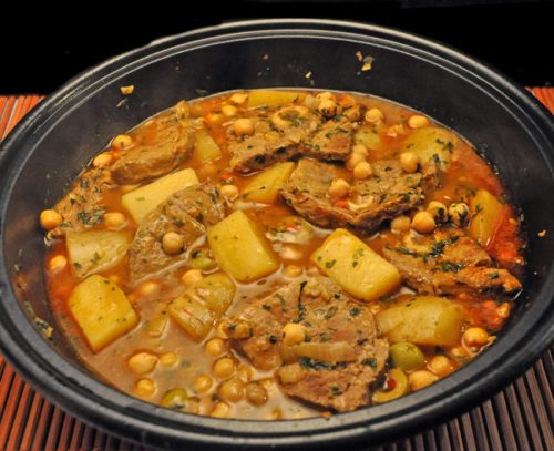 Lamb & Potato Tagine