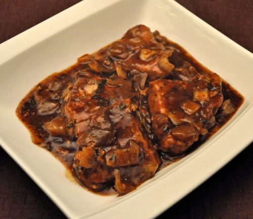 Pork Chops, Balsamic Sauce