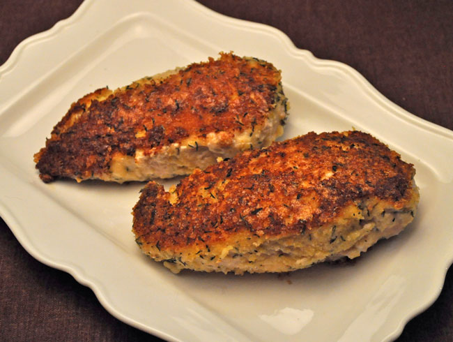 Mustard Crust Chicken Breasts