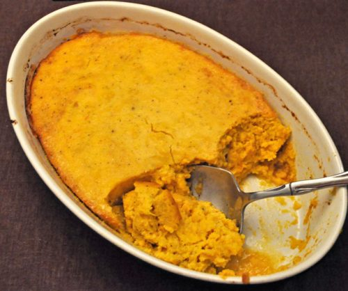Spiced Pumpkin Gratin