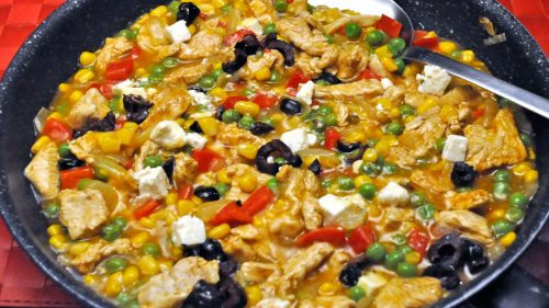 Turkey Veggie Skillet