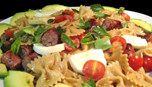Pasta Salad with Sausage