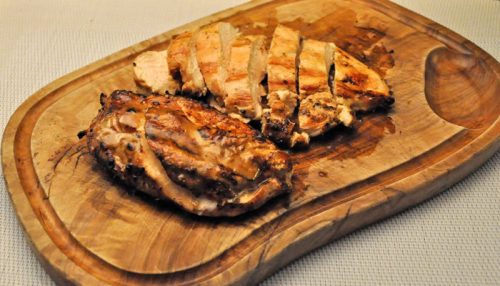 Grilled Aioli Chicken