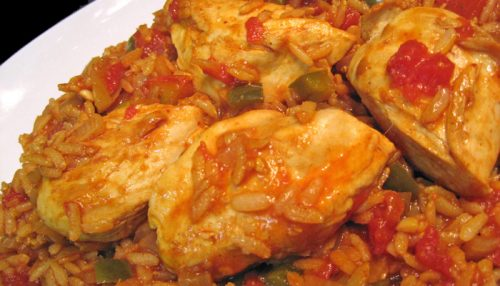 Chicken with Tomato Rice