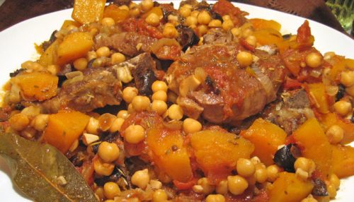 Lamb Tagine with Butternut Squash