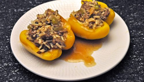 Stuffed Peppers with Mushrooms