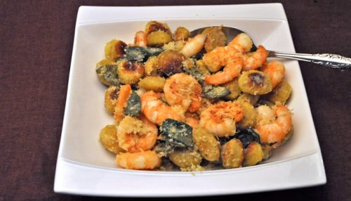 Shrimp and Gnocchi
