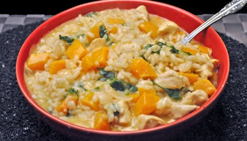 Chicken & Squash Risotto