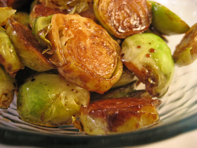 Brussels Sprouts, Balsamic Vinegar