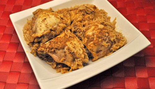 Spicy Chicken & Rice, Instant Pot