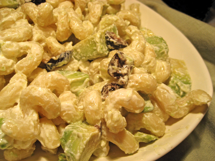 Pasta Salad with Avocado & Goat Cheese