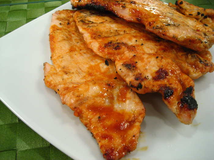 Barbecued Turkey Cutlets