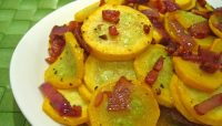 Squash with Bacon