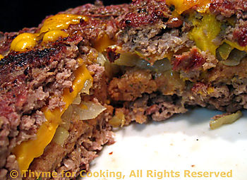 Giant Stuffed Burger