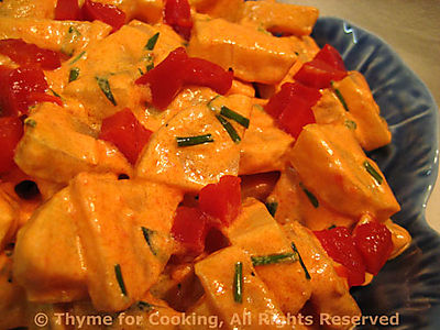 Potato Salad with Pimiento Dressing
