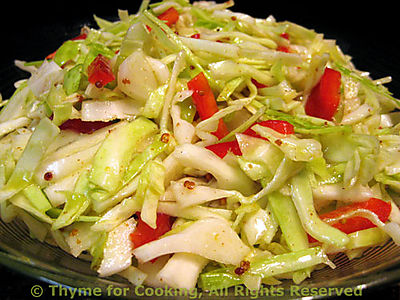 Tangy Coleslaw ( Cabbage Salad )