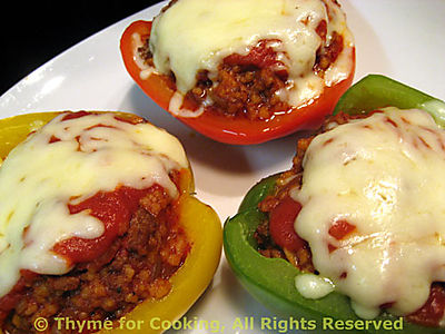 Stuffed Peppers, Italian Style
