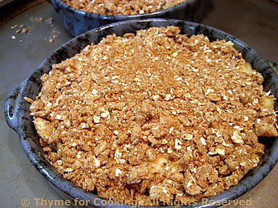 Apple Crisp, Prep