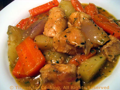 Chicken Stew with Sherry