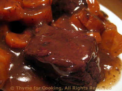 Braised Beef Provencal