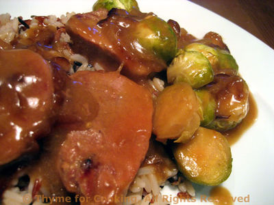Pork Tenderloin with Brussels Sprouts