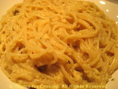 Noodles with Egg Sauce
