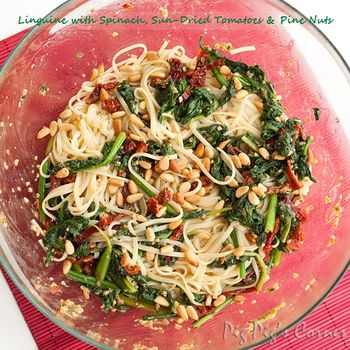 Linguini_spinach