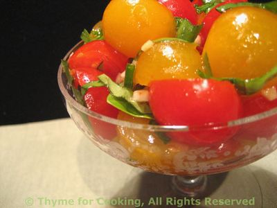 Tomato Garlic Salad