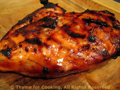 Grilled, Marinated Chicken Breasts