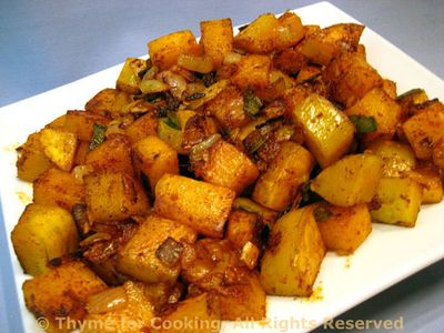 Fried Butternut Squash