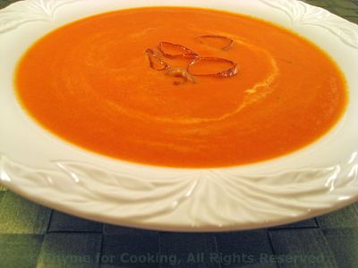 Pimento or Roasted Red Pepper Soup