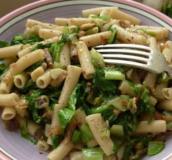 Penne with Escarole and Pancetta