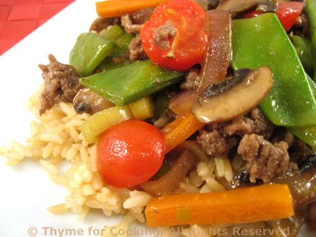 Spring Stir-Fry with Beef