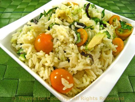 Basmati Rice Summer Pilaf