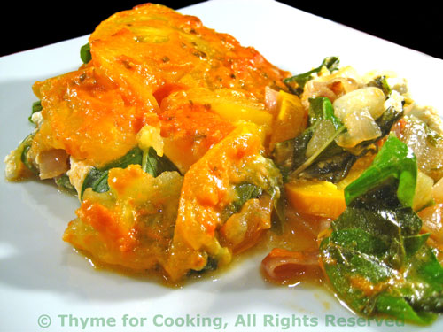 Summer Vegetable Gratin; the update - Thyme for Cooking, Blog