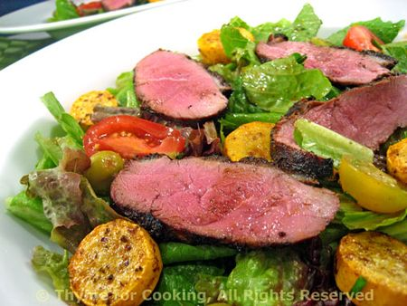 Magret de Canard (Duck Breast) Salad
