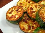 Courgette green, fried