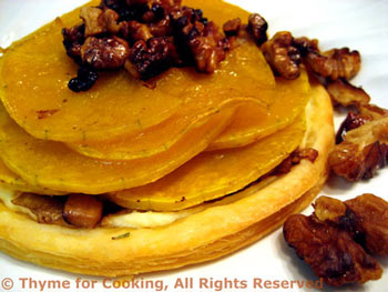 Butternut Squash Pastry
