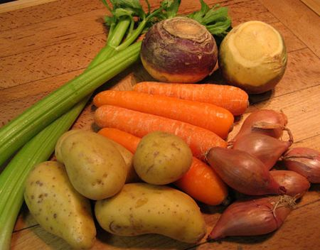 stew vegetables