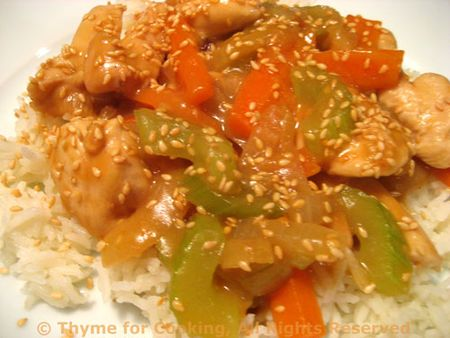Stir-Fried Sesame Chicken