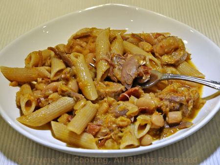 Cassoulet with Pasta
