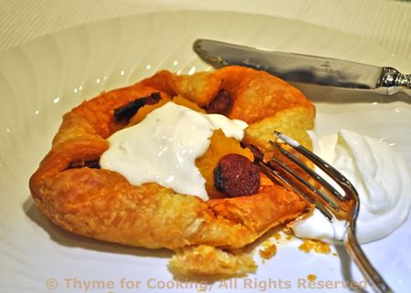 Pastry with Butternut Squash and Chorizo