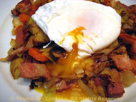 Ham and Cabbage Hash