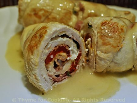Stuffed Turkey Rolls