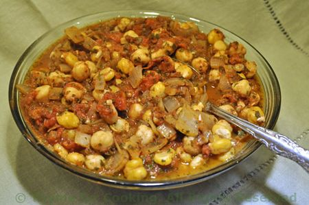 Spicy Moraccan Chickpeas