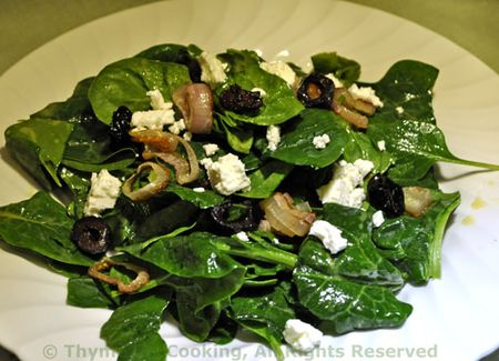 Spinach Feta Salad
