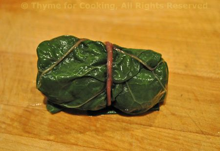 Chard Leaf, stuffed